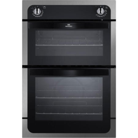 New World NW901DO Electric Built In Double Oven - Stainless Steel