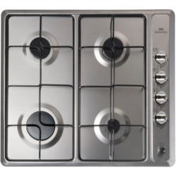 New World NWGHU601 60cm Gas Hob Stainless Steel