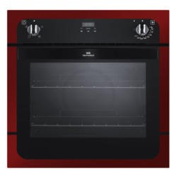 New World NW601FP Fanned Electric Built In Single Oven - Metallic Red