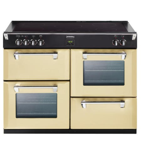 Stoves Richmond 1000Ei 100cm Electric Range Cooker with Induction Hob - Champagne