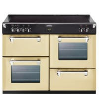 GRADE A2 - Stoves Richmond 1000Ei 100cm Electric Range Cooker with Induction Hob - Champagne