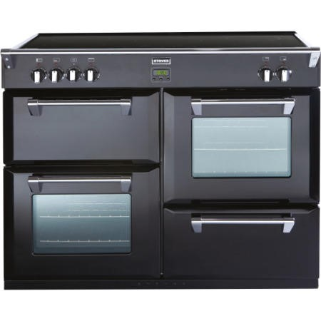 Stoves Richmond 1100Ei Black 110cm Electric Range Cooker with Induction Hob