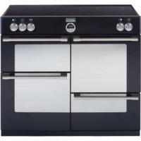 Stoves Sterling 1000Ei 100cm Electric Range Cooker with Induction Hob - Black
