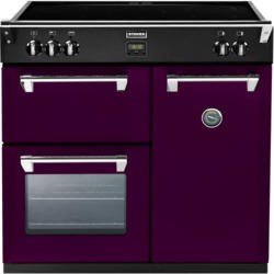 Stoves Richmond 900Ei Colour Boutique 90cm Electric Range Cooker with Induction Hob - Wild Berry
