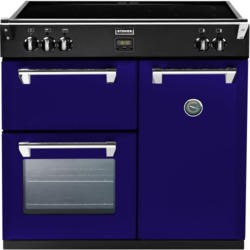 Stoves Richmond 900Ei Colour Boutique 90cm Electric Range Cooker with Induction Hob - Midnight Gaze