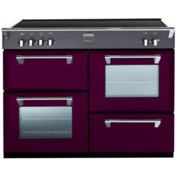 Stoves Richmond 1000Ei Colour Boutique 100cm Electric Range Cooker with Induction Hob - Wild Berry