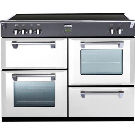 Stoves Richmond 1100Ei Colour Boutique 110cm Electric Range Cooker with Induction Hob - Icy Brook