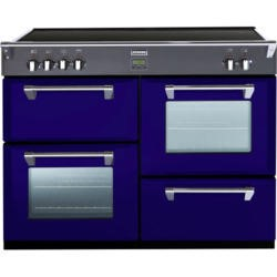 Stoves Richmond 1100Ei Colour Boutique 110cm Electric Range Cooker with Induction Hob - Midnight Gaze
