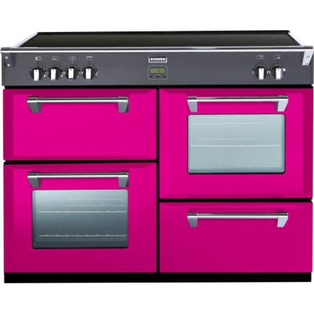 Stoves Richmond 1100Ei Colour Boutique 110cm Electric Range Cooker with Induction Hob - Floral Burst