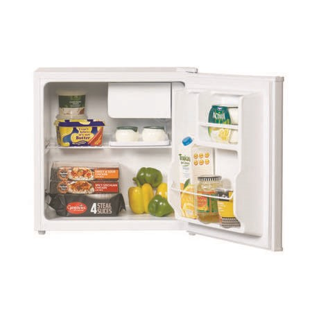 LEC R50052W 47cm Wide Freestanding Compact Fridge - White