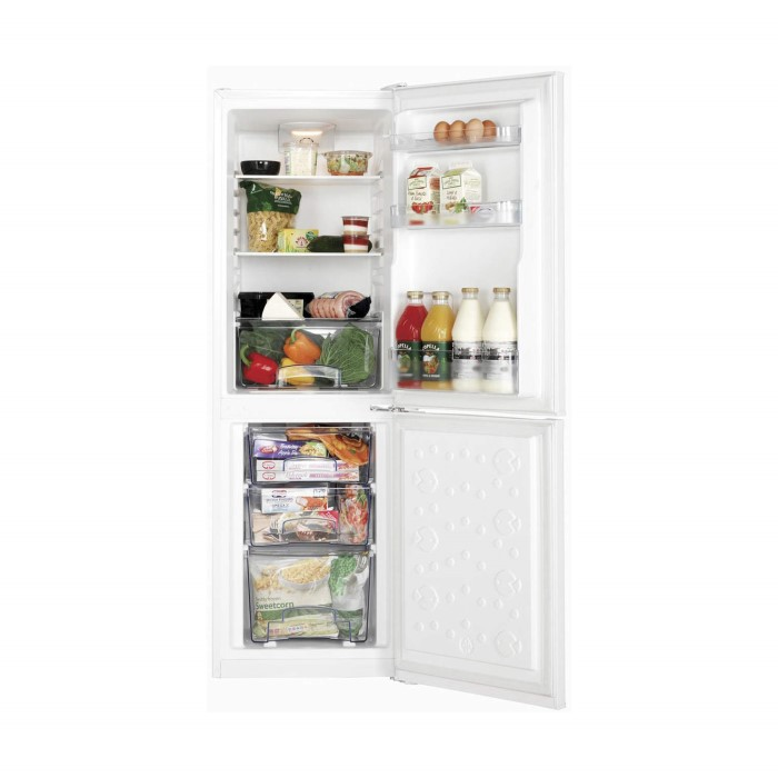 Lec tf50152 50cm wide tall freestanding fridge for Kitchen cabinets 50cm wide