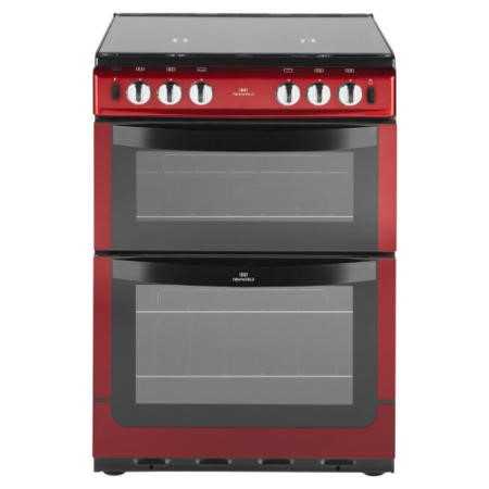 New World Nw601gtcl 60cm Wide Dual Cavity Gas Cooker