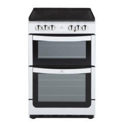 New World NW551ETC 55cm Wide Dual Cavity Electric Cooker In White