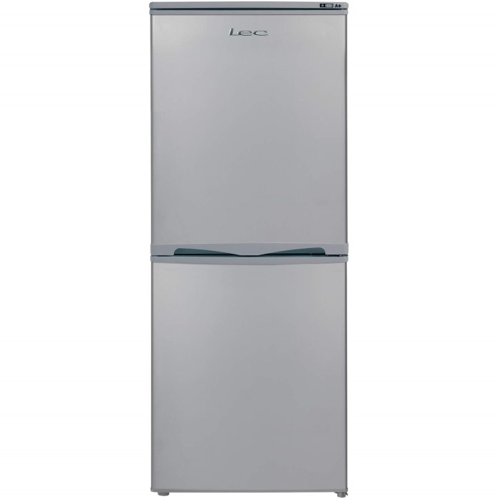 Lec t5039s 50 50 50cmwide silver freestanding fridge for Kitchen cabinets 50cm wide
