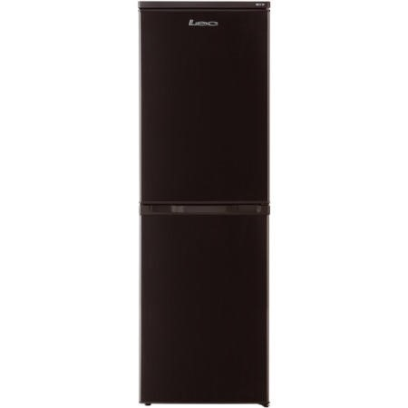 LEC TF5517B Frost Free Freestanding Fridge Freezer - Black