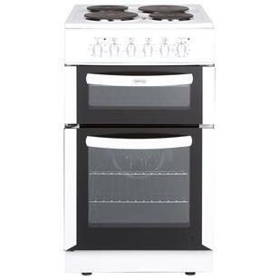 belling fse50fdow 50cm wide double oven electric cooker. Black Bedroom Furniture Sets. Home Design Ideas