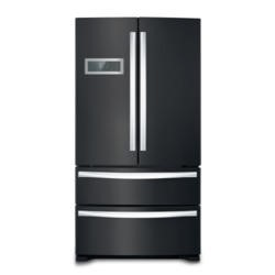 Stoves FD90 Black Four-door Fridge Freezer