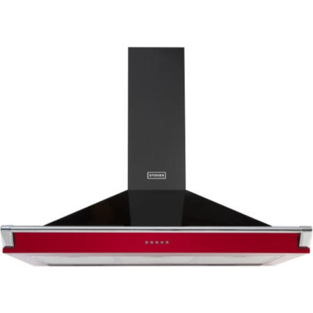 Stoves S1100 Richmond 110cm Wide Chimney Cooker Hood Hot Jalapeno