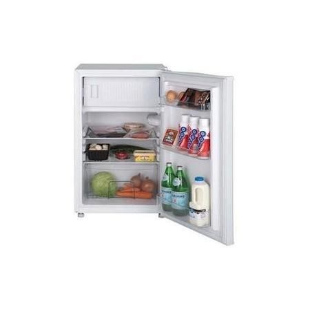 LEC 444442893 84x50cm Under Counter Fridge With Ice Box White