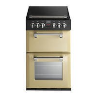 Stoves Richmond 550DFW Mini Range 55cm Dual Fuel Cooker - Champagne