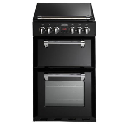 Stoves Richmond 550DFW Mini Range 55cm Dual Fuel Cooker - Black