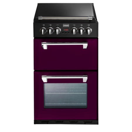 Stoves Richmond 550DFW Mini Range 55cm Dual Fuel Cooker - Wild Berry