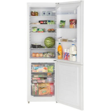 LEC TF60183 183x60cm 295L Frost Free Freestanding Fridge Freezer Anthracite