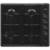 GRADE A3 - New World NWGHU60VE Four Burner Gas Hob Black