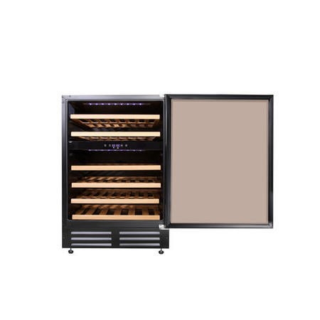 GDHA 444443283 60cm Wide 46 Bottle Wine Cooler Black