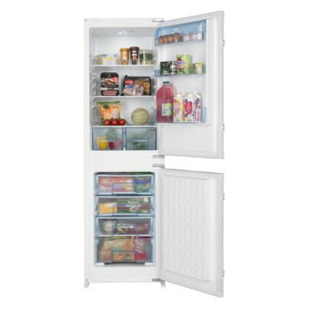 New World NW5050FF 54cm Wide Frost Free 50-50 Integrated Upright Fridge Freezer - White