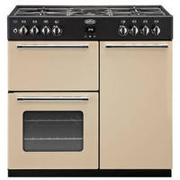 Belling Country Range 90cm Duel Fuel Range Cooker Cream