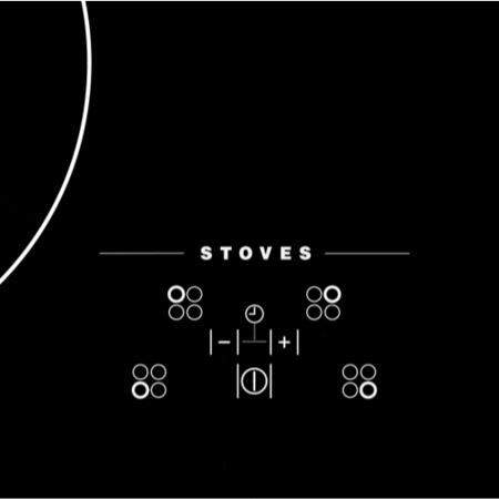 Stoves SIH600TC Black 60cm Four Zone Induction Hob