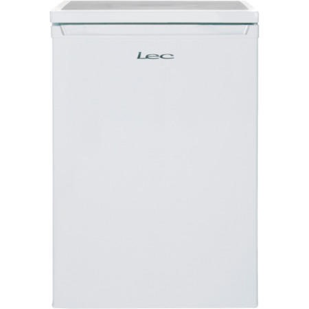 LEC L6014 60cm Wide Freestanding Under Counter Larder Fridge - White