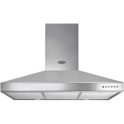 Belling 90 DB Chim MK2 90cm Chimney Cooker Hood Stainless Steel