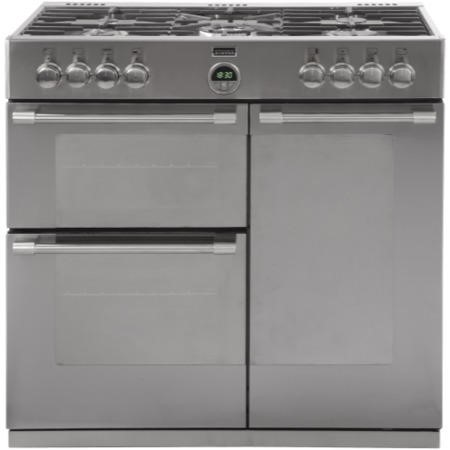 Stoves Sterling 900GT 90cm Gas Range Cooker Stainless Steel
