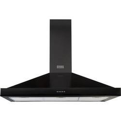 Stoves 444443556 S1000 Richmond MK2 100cm Chimney Cooker Hood Black