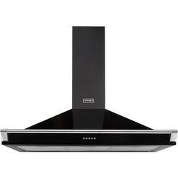 Stoves 444443560 S1100 Richmond MK2 110cm Chimney Cooker Hood With Rail Black