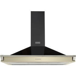 Stoves S1000 Richmond MK2 100cm Chimney Cooker Hood With Rail Cream