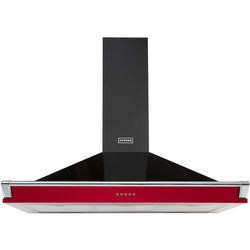 Stoves S1000 Richmond MK2 100cm Chimney Cooker Hood With Rail Hot Jalapeno
