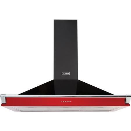 Stoves 444443566 S1100 Richmond MK2 110cm Chimney Cooker Hood Hot Jalapeno
