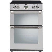 Stoves Sterling 600MFTi 60cm Double Oven Electric Cooker With Induction Hob - Stainless Steel Best Price, Cheapest Prices
