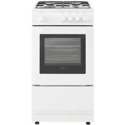 New World 444443993 50cm Wide Gas Single Cavity Cooker White