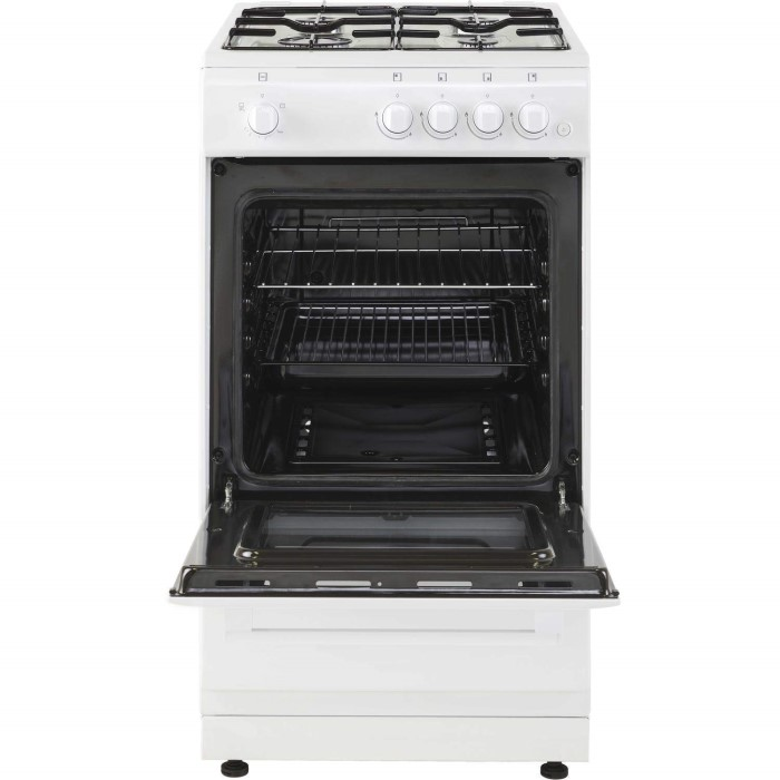New world 444443993 50cm wide gas single cavity cooker for Kitchen cabinets 50cm wide