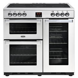 Belling 444444072 Cookcentre 90E Professional 90cm Electric Ceramic Range Cooker Stainless steel