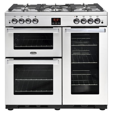 Belling 444444075 Cookcentre 90G Professional 90cm Gas Range Cooker Stainless steel