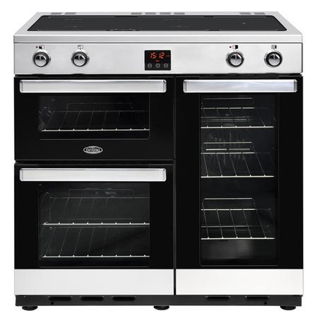 Belling 444444079 Cookcentre 90Ei 90cm Electric Induction Range Cooker Stainless steel
