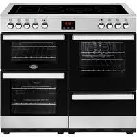 Belling 444444085 Cookcentre 100E 100cm Electric Ceramic Range Cooker Stainless steel