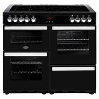 Belling 444444086 Cookcentre 100E 100cm Electric Ceramic Range Cooker Black