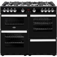 Belling 444444089 Cookcentre 100G 100cm Gas Range Cooker Black