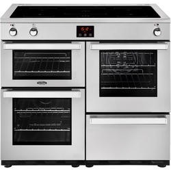 Belling Cookcentre 100Ei Professional 100cm Electric Induction Range Cooker Stainless steel